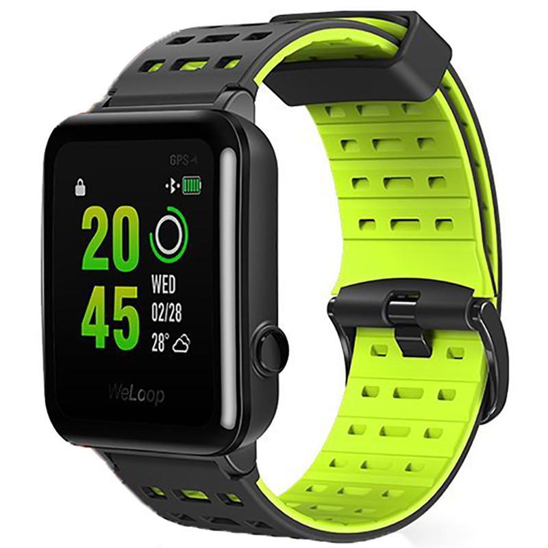 Смарт-часы WeLoop Hey 3S Waterproof Smart Sports Watch Black/Green