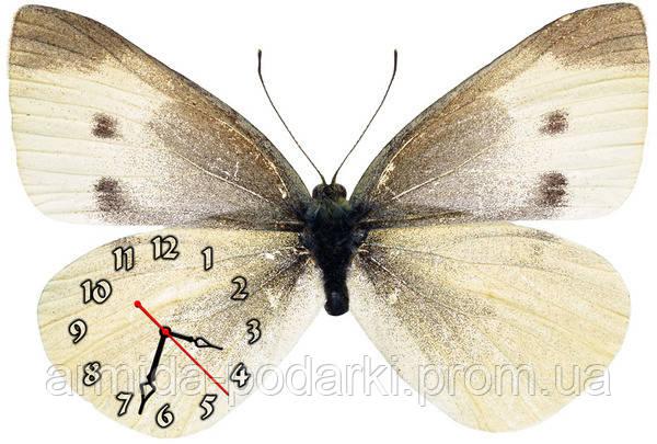 """Красивые фигурные настенные часы """"Бабочка-2"""" 30х45 см - Армида-подарки в Запорожье"""
