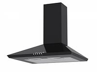 Витяжка кухонна BORGIO Delta + (black) чорна купольна, фото 1