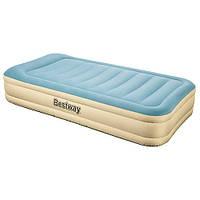 Велюровая надувная кровать