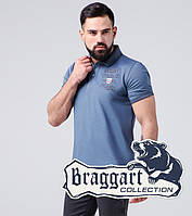 Braggart   Тенниска мужская 17092 синяя бирюза