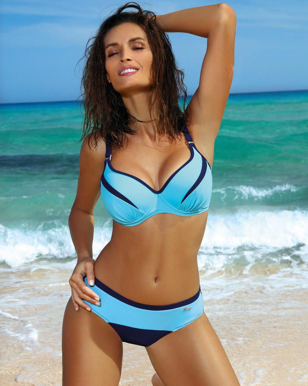 Купальник для большой груди M 473 BARBRA (75С-90H в расцветках) - Интернет-магазин Кокетка: женские купальники, нижнее женское белье, одежда в Луцке