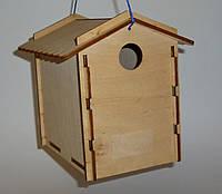 Гнездовье для синичек (синичник) 11х16х16 см