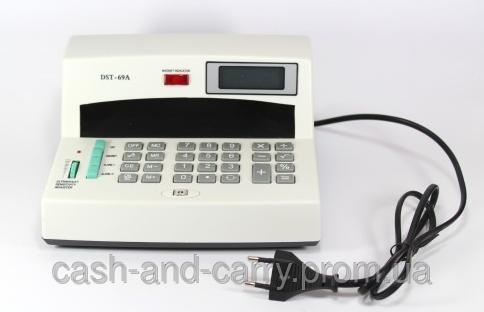 Детектор валют с калькулятором DST-69A Детектор от сети 220V