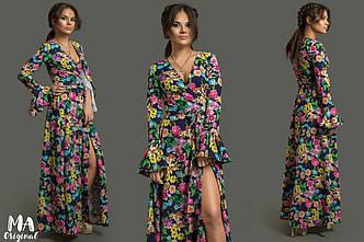 Платье в расцветках (56-2-625)