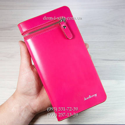 e46794550043 Женское портмоне Baellerry Italia Pink, кошелек Балери Италия, клатч  Баллери качество!Реплика