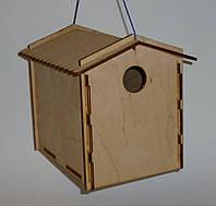 Гнездовье для синичек (синичник) 14х21х18 см