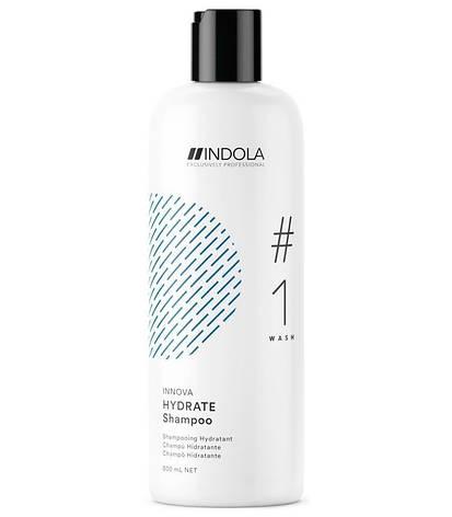 Зволожуючий Шампунь Indola Innova Hydrate 300 мл, фото 2