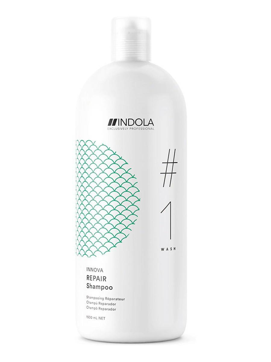 Шампунь для восстановления поврежденных волос Indola Innova Repair 1500 мл