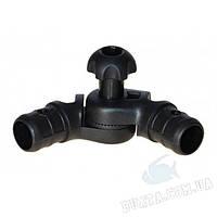 Наклонно-соединительный узел FASTEN для труб правый 22, 29 мм (Tr257)