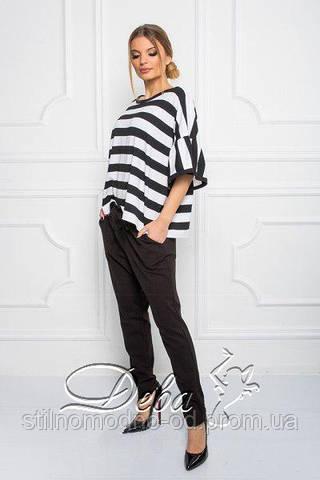 Женские черные штаны