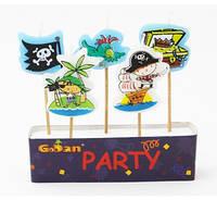 Свечи праздничные для торта Пираты