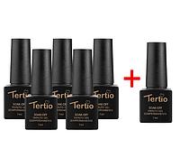 Набор гель-лаков Tertio 5+1 в подарок