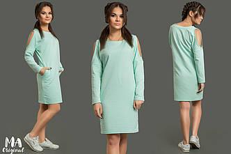 Платье в расцветках (56-2-615)