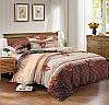 Двуспальный комплект постельного белья евро 200*220 сатин (9598) TM КРИСПОЛ Украина