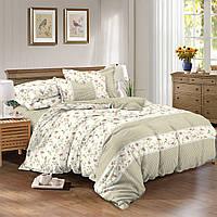 Семейный комплект постельного белья сатин (9609) TM КРИСПОЛ Украина