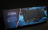 Игровая клавиатура с подсветкой Tricolor M200 - USB