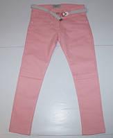 Стрейчевые котоновые брюки для девочек (5-9 лет)
