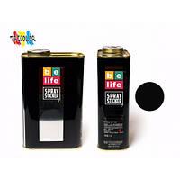 Краска-пленка (жидкая резина) BeLife SPRAYSTICKER PRO 1 л. (700 гр) черная матовая