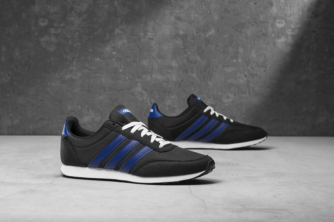 Оригинальные мужские кроссовки Adidas V Racer 2.0 Black