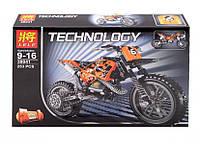 Конструктор Lele 38041 Кроссовый мотоцикл (аналог Lego Technic 42007)