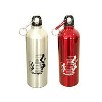Металлическая бутылка для воды Большой Спорт, 750 мл ( спортивная бутылка для воды )