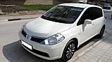 Двері задня права на Ніссан Тііда ( Nissan Tiida ) Арабка 2005-2012 седан, фото 2