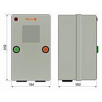 Пускатель 40А + реле + таймер + контакт приставка в металлической оболочке Ue=220В/АС3 IP65