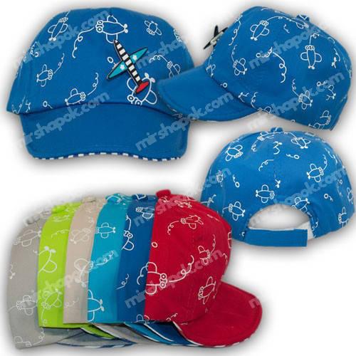 Детские кепки для мальчиков, р. 46-48
