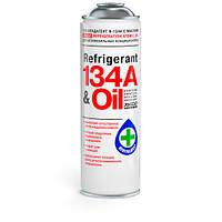 Фреон Автомобильный REFRIGERANT 134a & Oil 650 мл - ХАДО