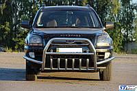 Кенгурятник WT003 Special (нерж.) - Kia Sportage 2004-2010 гг.
