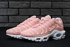 Кроссовки женские Nike Air Max TN Plus Pink топ реплика, фото 2