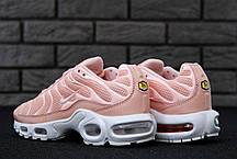 Кроссовки женские Nike Air Max TN Plus Pink топ реплика, фото 3