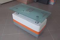 Журнальный столик индивидуальный дизайн с логотипом компании