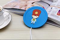 USB подогрев чашки Солдатик Синий
