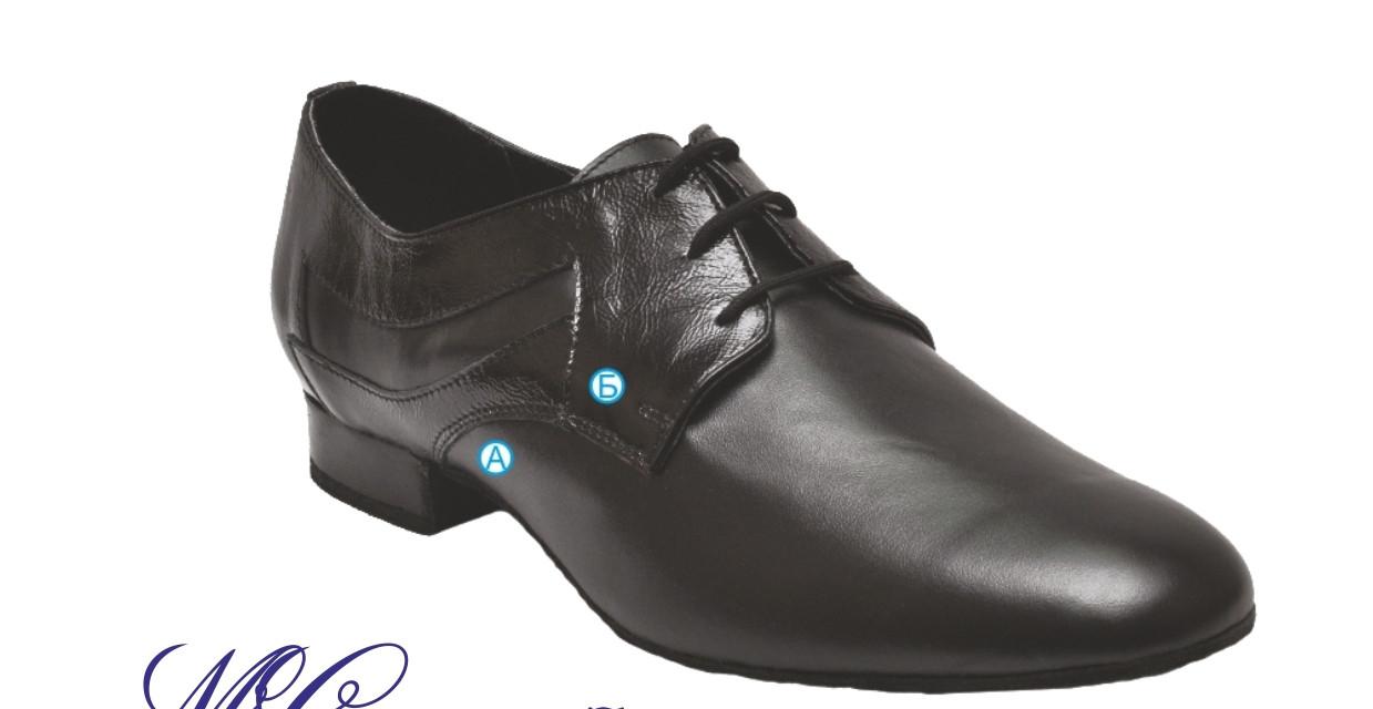 Туфли танцевальные для мальчиков СТАНДАРТ! натуральная кожа, лак !