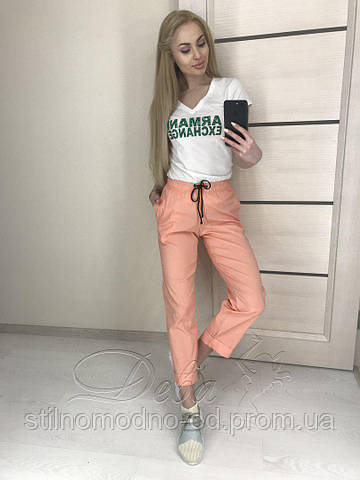 Стильные женские укороченные брюки