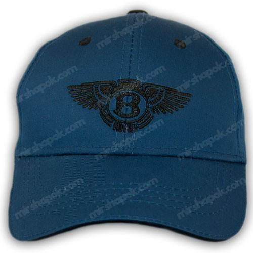 Бейсболка с логотипом авто Bentley