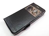 Чехол книжка с окошком momax для Lenovo A Plus A1010a20 черный