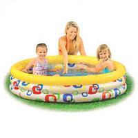 Детский надувной бассейн Intex 58449 Волночки 168x41 см
