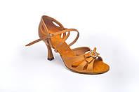 Туфли для танцев  женские Латина цвет бежевый