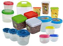 Банки, ёмкости для хранения сыпучих продуктов