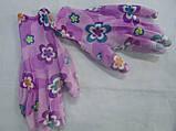 Перчатки неопреновые трикотажные цветные, фото 3