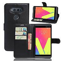 Чехол книжка для LG V20 Черный