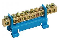 Шина нулевая с DIN-изолятором типа «Стойка» ШНИ-6x9-12-С-С, IEK