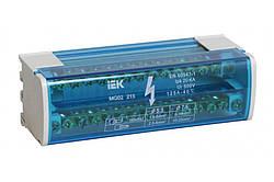 Шина «N» нулевая на DIN-рейку в корпусе 2x15 групп, IEK