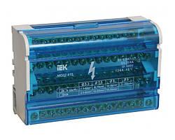 Шина «N» нулевая на DIN-рейку в корпусе 4x15 групп, IEK