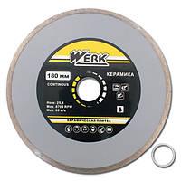 Алмазный диск Werk Ceramics 1A1R WE110122 180x5x25.4 мм