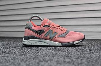 """Женские кроссовки New Balance 998 """"Pink"""""""