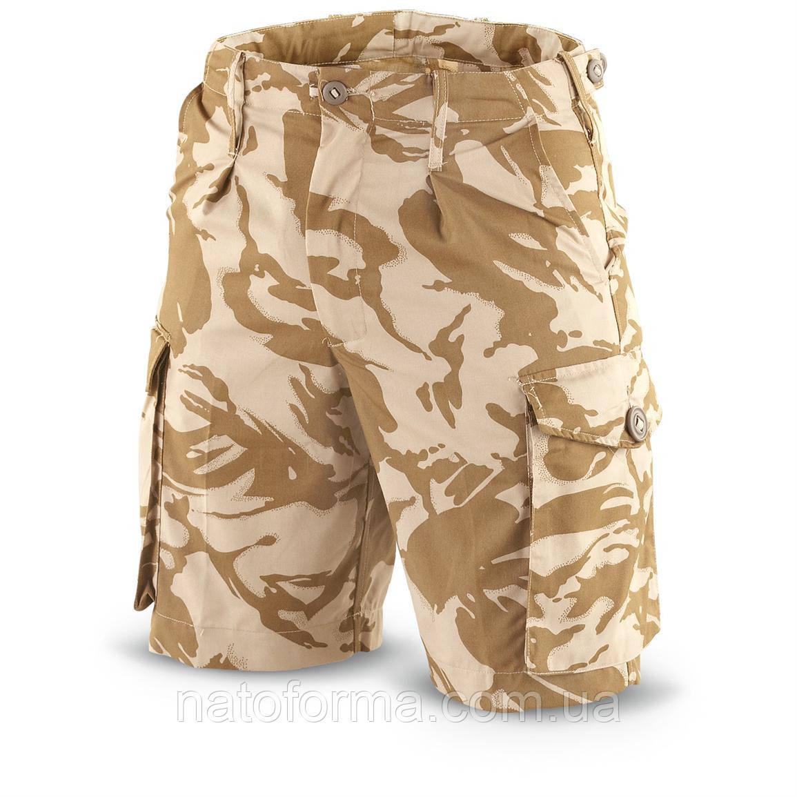 Шорты, бриджи армии Великобританнии в расцветке DDPM (Desert DP), оригинал, новые и б/у